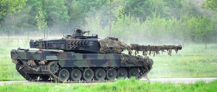 Bundeswehr-Leopard-2A6